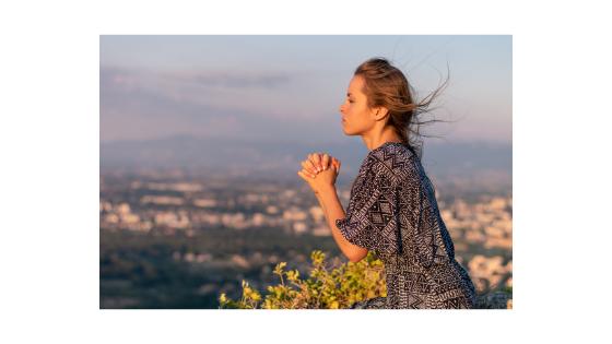 Canva -Woman Praying Blog banner
